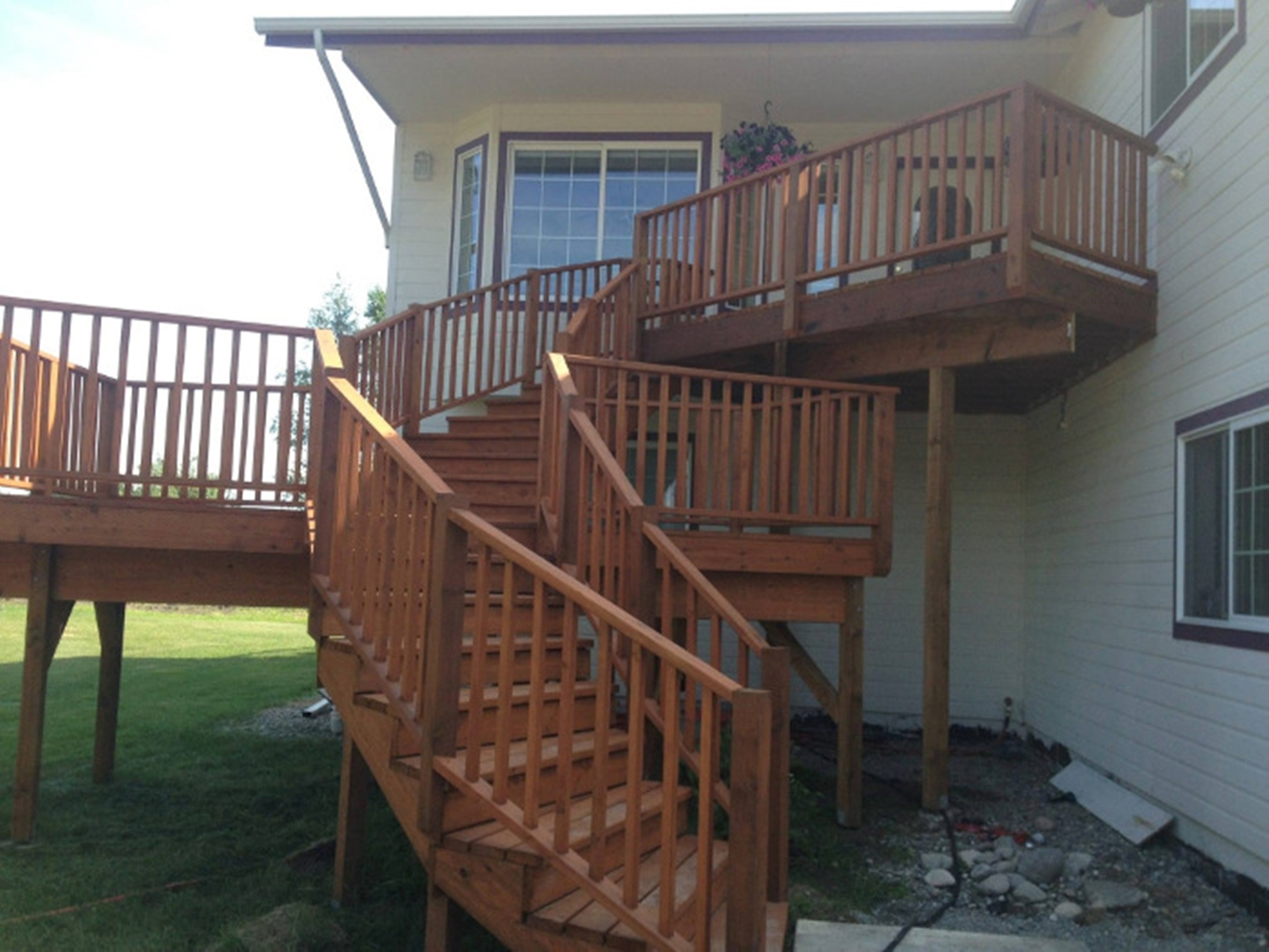 Alaska Fence and Deck Install 2