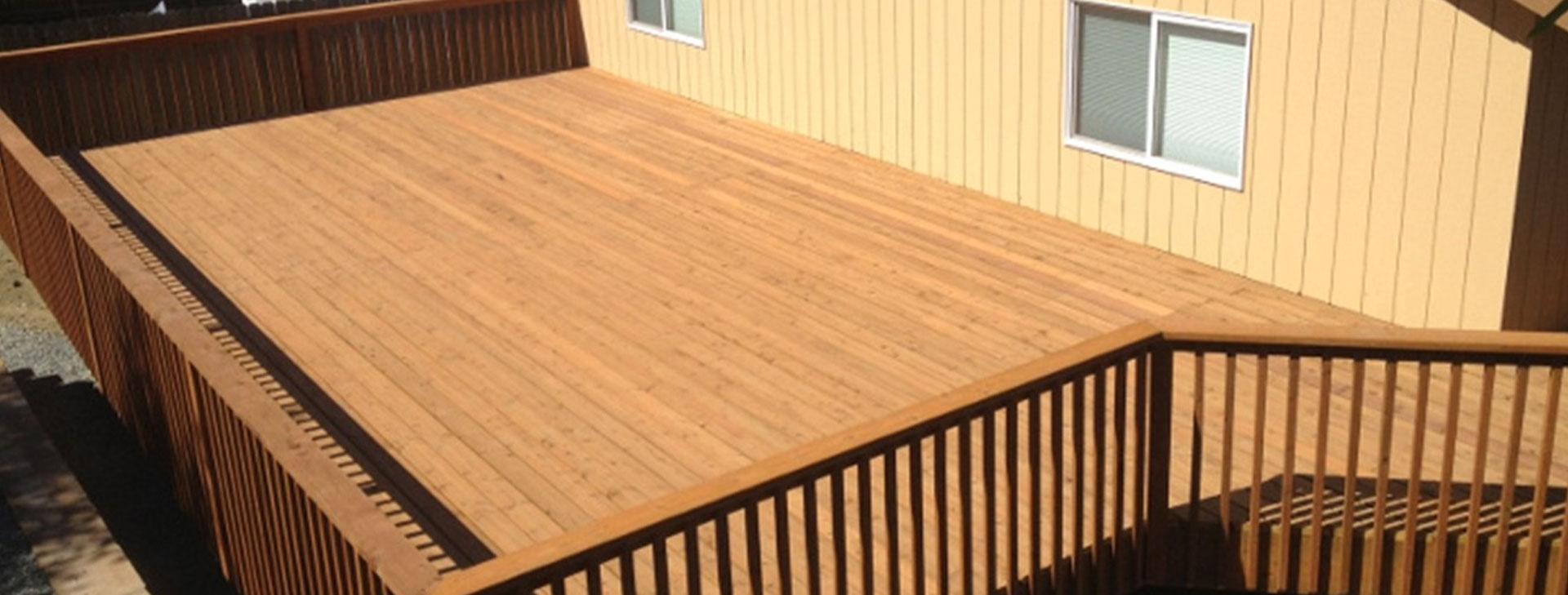 Alaska Fence and Deck Install 3