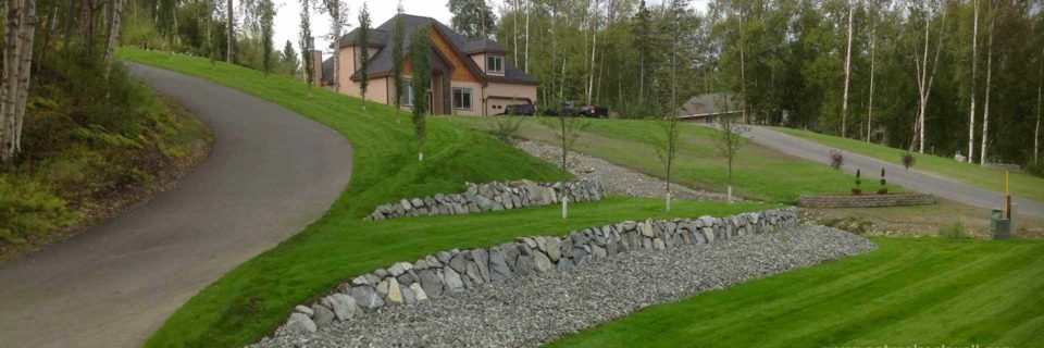 Retaining Walls Using Natural Materials